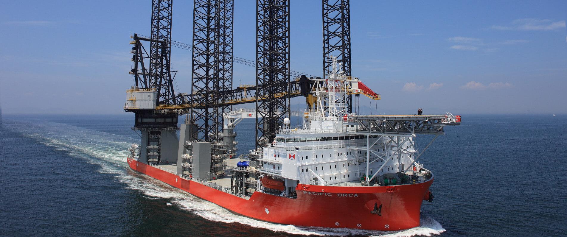 Design of Wind Turbine Installation Ships 'Pacific Orca' & 'Pacific