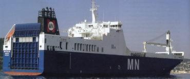 RoRo cargo ship newbuilding MN Calao
