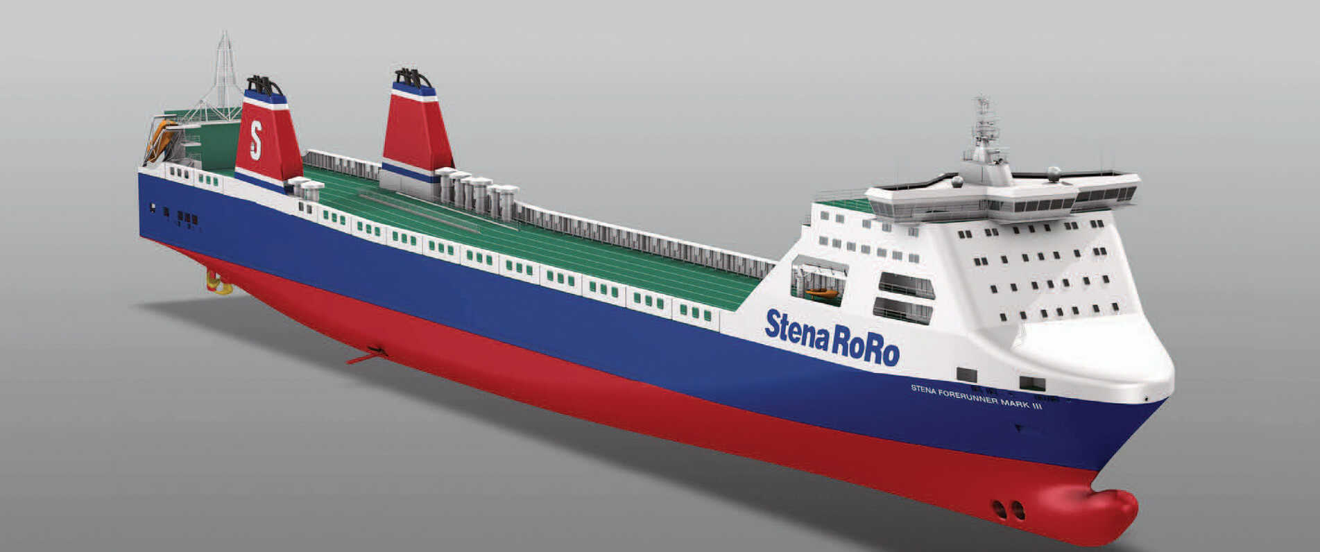 Basic Design of RoRo Stena Forerunner Mark III