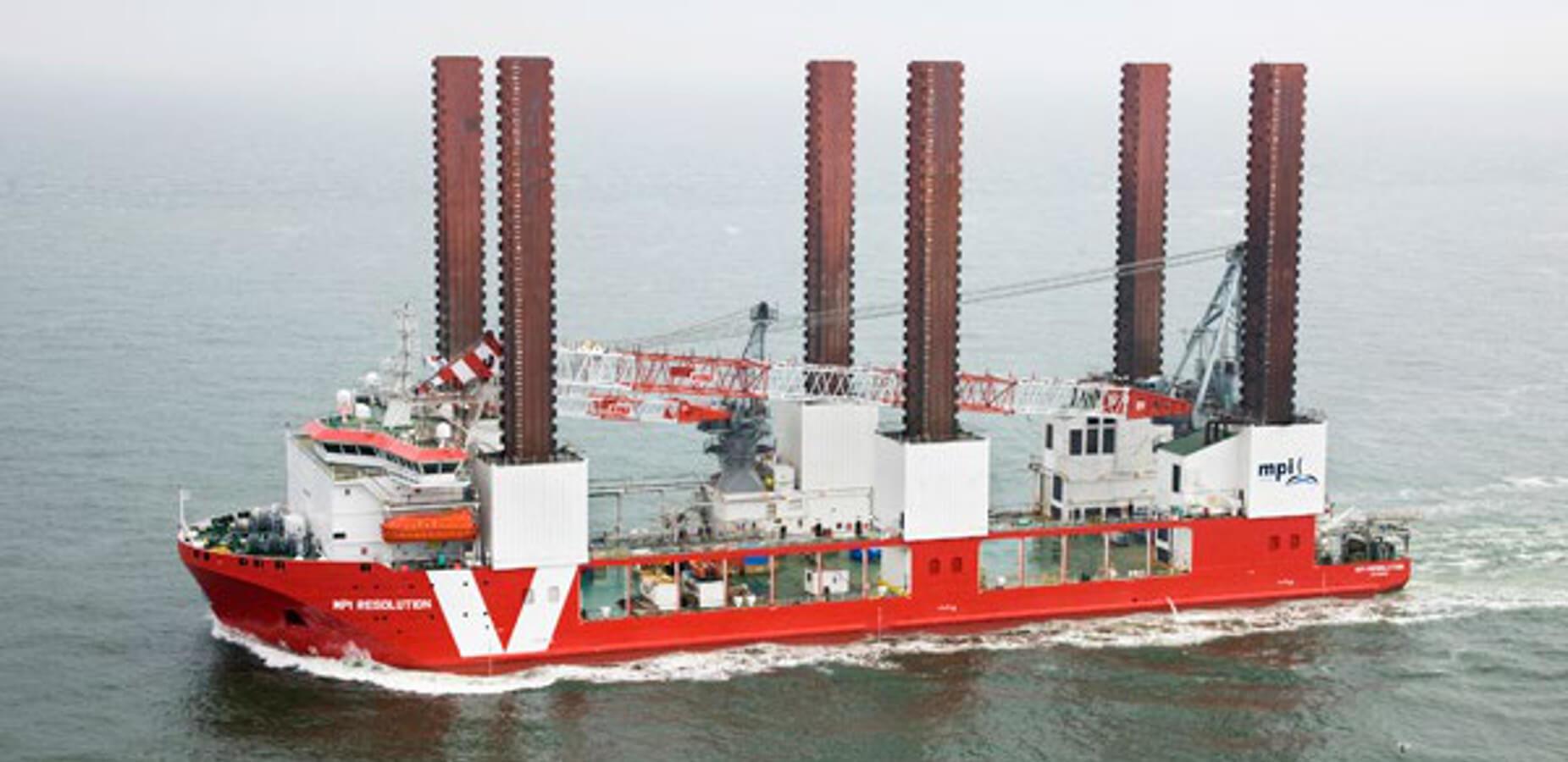 Design Of Offshore Wind Turbines Installation Vessel Mpi