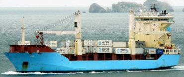 724 TEU Container Vessel design