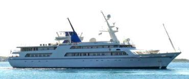 80 m Luxury yacht Qadissiyat Saddam KNUD E. HANSEN