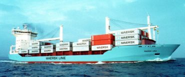 960 TEU Container Vessel design