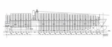 Conceptual Design of 5500 TEU Container Vessel