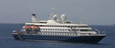 Cruise Vessel Seagoddes I and II Knud E. Hansen Design