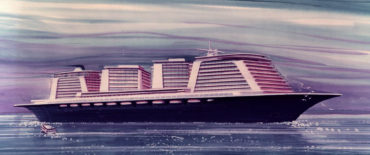New generation of modern cruise liners_design of Phoenix World city