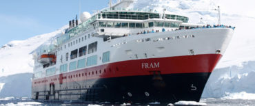 Tender Design of polar cruise ship Fram