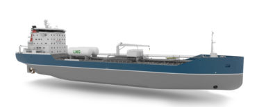 Concept design of 16000 DWT Chemical Carrier