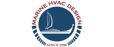 Marine HVAC design logo