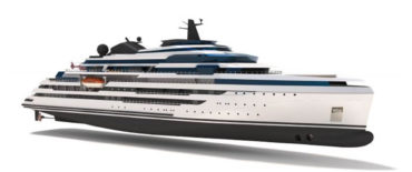 135 m Expedition Cruise customized design